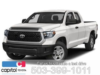 New 2019 Toyota Tundra SR Truck Double Cab for sale in Salem, OR at Capitol Toyota