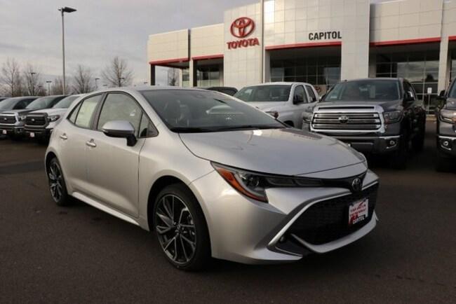 New 2019 Toyota Corolla Hatchback XSE Hatchback JTNK4RBE7K3036713 For Sale/Lease Salem, OR