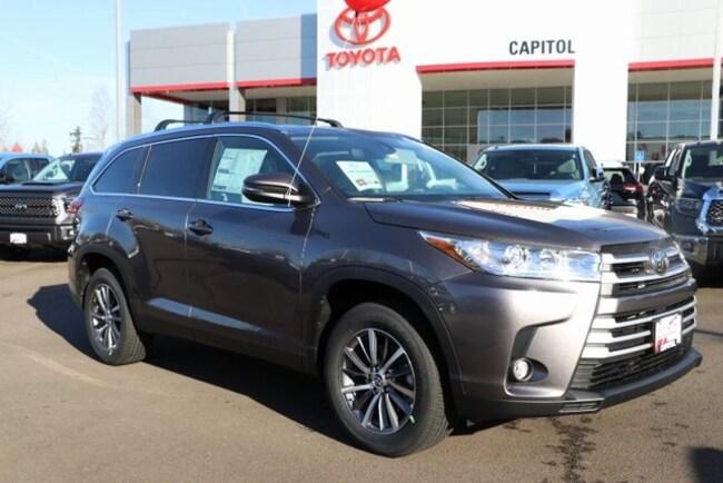 New 2019 Toyota Highlander XLE SUV For Sale/Lease Salem, OR
