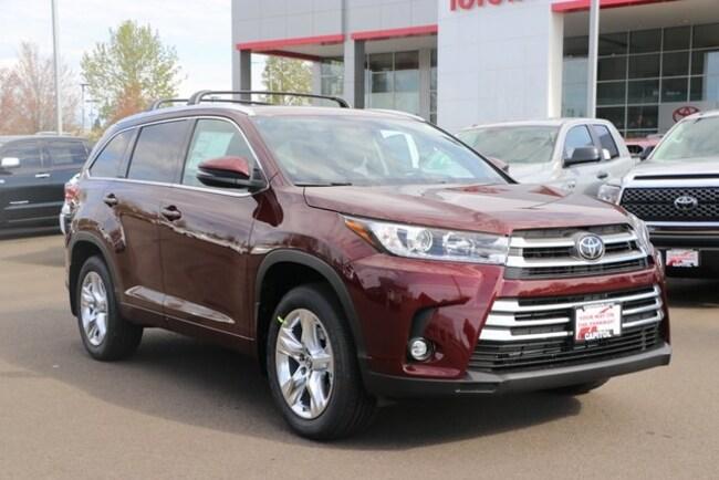 New 2019 Toyota Highlander Limited SUV 5TDDZRFH5KS972556 For Sale/Lease Salem, OR
