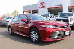 Certified 2018 Toyota Camry Hybrid LE Sedan 4T1B31HK3JU502129 for sale in Salem, OR at Capitol Toyota