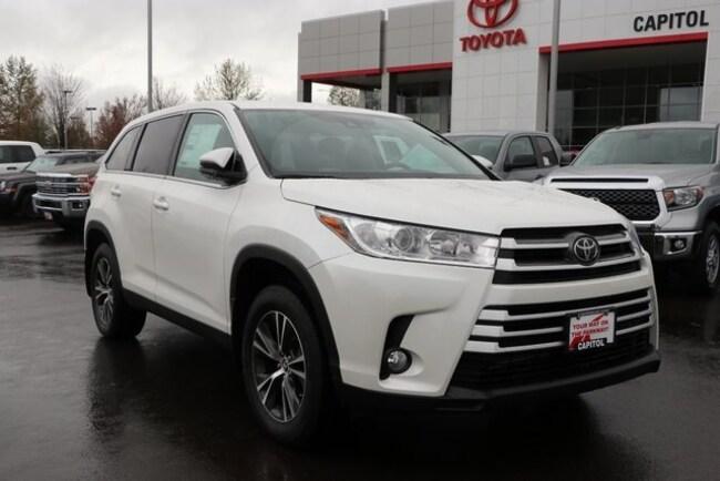 New 2019 Toyota Highlander LE Plus SUV For Sale/Lease Salem, OR
