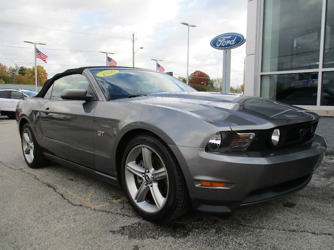 Ford Mustang Gt Convertible For Sale In Indianapolis In