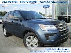 2019 Ford Explorer Base SUV 1FM5K7B80KGA15566 for sale in Indianapolis, IN
