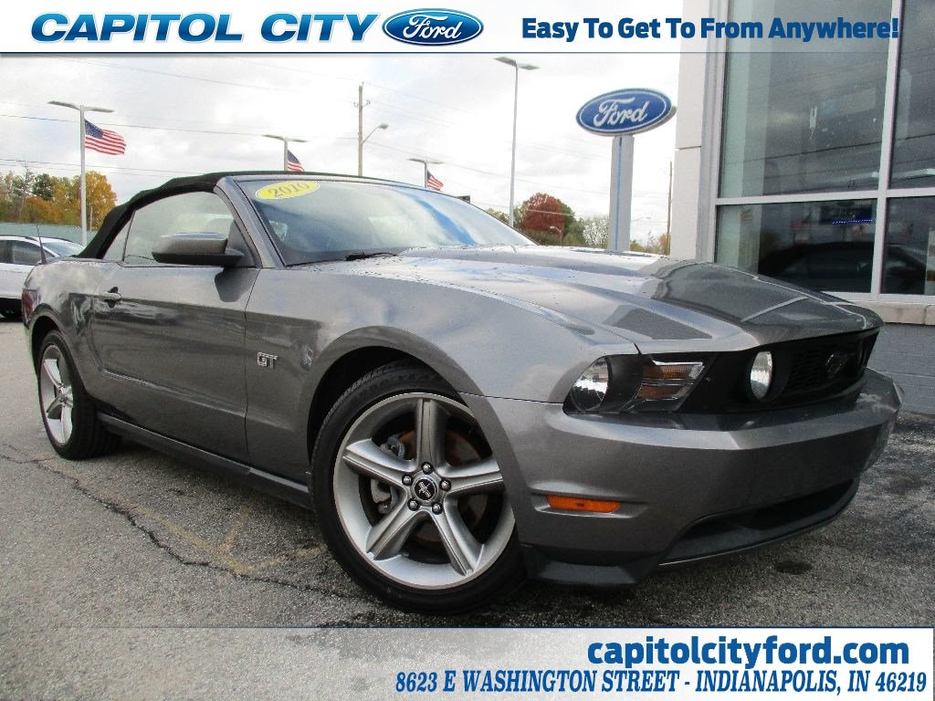 Used 2010 ford mustang gt for sale in indianapolis in vin 1zvbp8fh5a5104890
