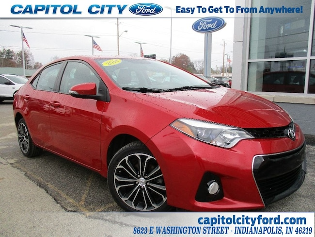 Used 2014 Toyota Corolla S For Sale In Indianapolis In Vin