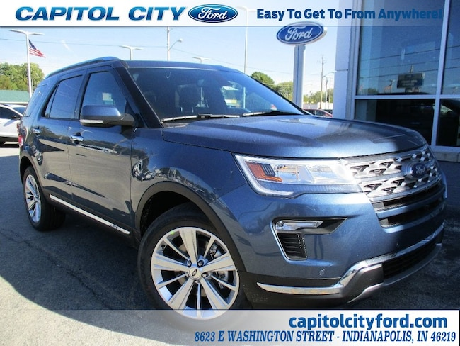 New 2019 Ford Explorer Limited SUV for sale/lease Indianapolis, IN