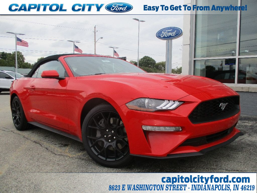 2019 Ford Mustang Ecoboost Convertible for sale in Indianapolis
