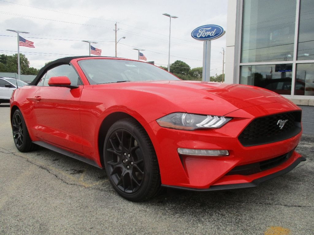 New 2019 ford mustang ecoboost for sale lease indianapolis in vin 1fatp8uhxk5123825