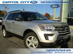 2019 Ford Explorer Base SUV 1FM5K7B89KGA15565 for sale in Indianapolis, IN