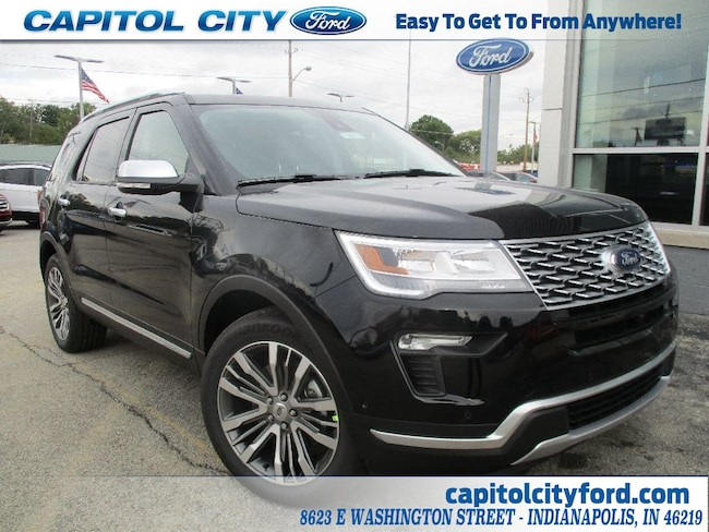 new 2019 ford explorer platinum for sale/lease indianapolis, in