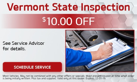 Vermont State Inspection