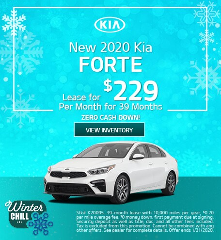 New 2020 Kia Forte - January