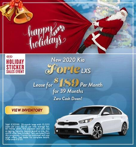 New 2020 Kia Forte - December