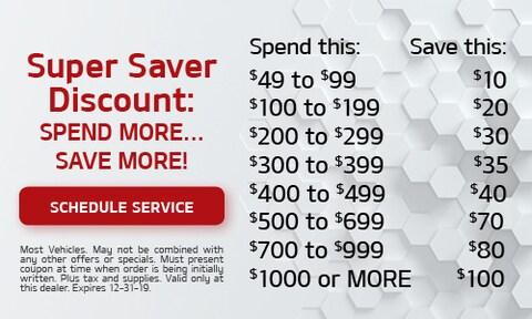 Super Saver Discount