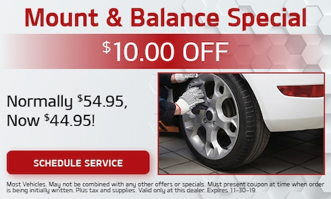 Mount & Balance Special