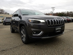 New 2019 Jeep Cherokee LIMITED 4X4 Sport Utility for sale in Willimantic, CT at Capitol Garage Inc