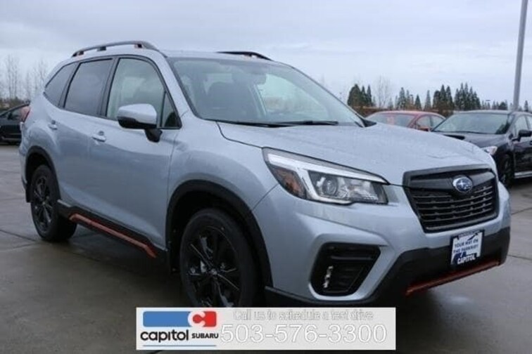 New 2019 Subaru Forester Sport SUV in Salem OR