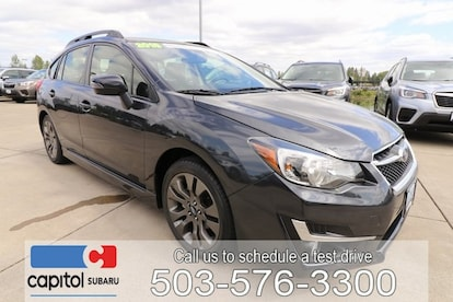 Certified Used 2016 Subaru Impreza 2 0i Sport Premium For Sale in Salem OR  | JF1GPAP66G8284004 | Serving Keizer, Monmouth, Dallas OR, and Lincoln City