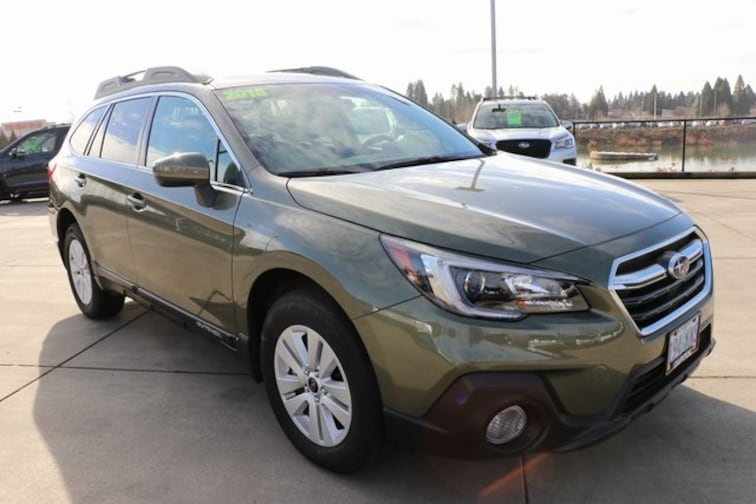 Used 2018 Subaru Outback 2.5i Premium with SUV in Salem OR