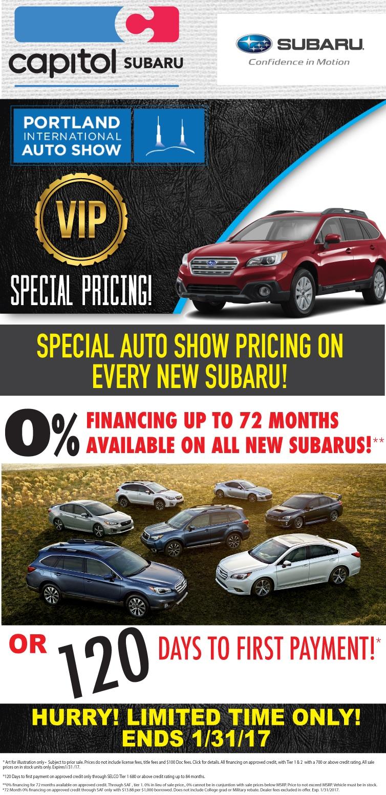 Capitol Subaru Of Salem New Subaru Dealership In Salem OR - Auto show prices