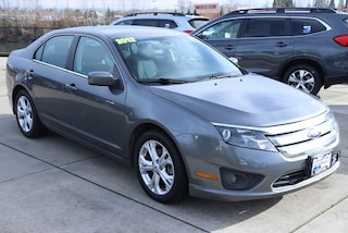 Used 2012 Ford Fusion SE Sedan 3FAHP0HA3CR398228 for sale in Salem, OR at Capitol Toyota