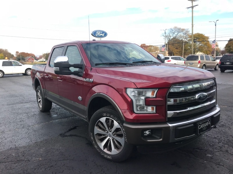 2015 Ford F-150 King Ranch Crew Cab Truck