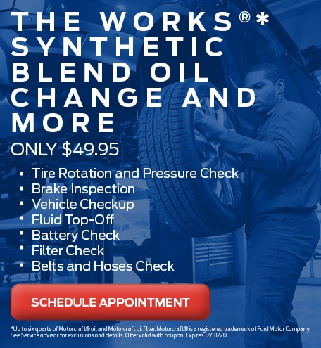 The Works Synthetic Oil Change