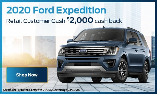 2020 Ford Expedition - Jan
