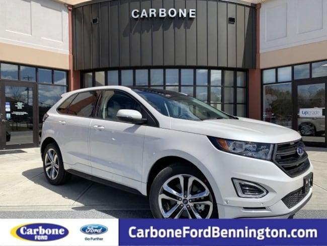 New 2018 Ford Edge Sport SUV for sale in Bennington VT