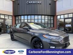 New 2019 Ford Fusion SE Sedan in Bennington VT