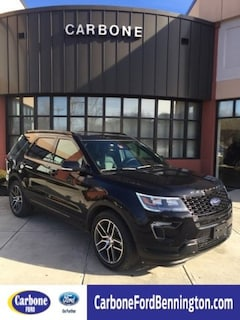 New 2019 Ford Explorer Sport SUV in Bennington VT