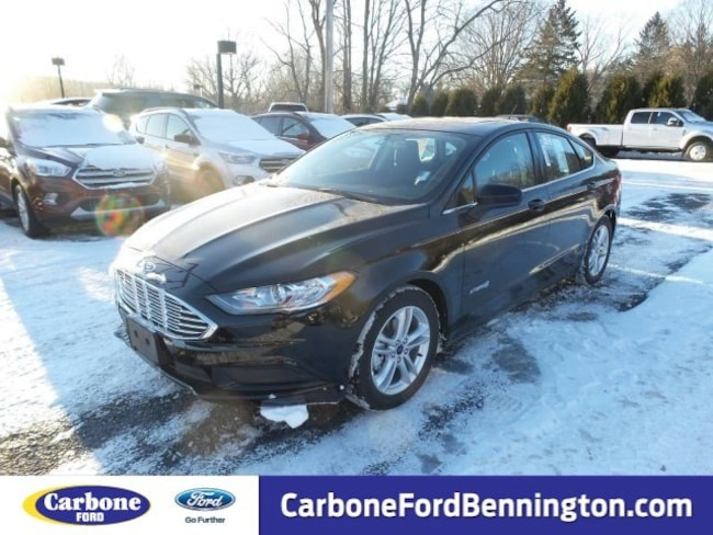 New 2018 Ford Fusion Hybrid SE Sedan for sale in Bennington VT