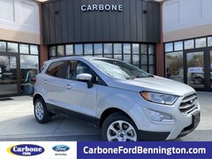 New 2018 Ford EcoSport SE SUV in Bennington VT