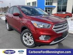 New 2019 Ford Escape SE SUV in Bennington VT
