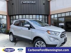 New 2019 Ford EcoSport SE SUV in Bennington VT
