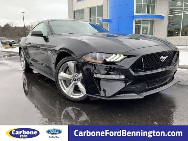 New 2019 Ford Mustang GT Premium Coupe for sale in Bennington VT