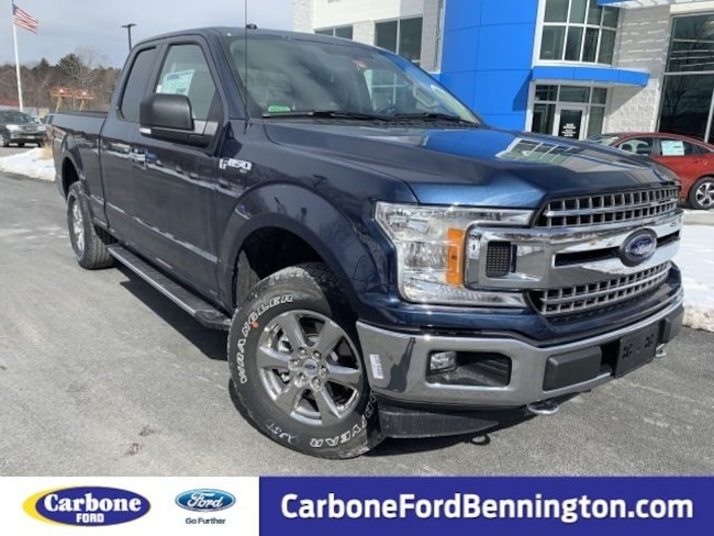 New 2018 Ford F-150 XLT Truck SuperCab Styleside for sale in Bennington VT