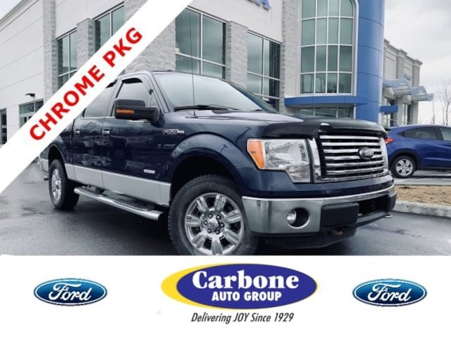 Used 2011 Ford F-150 XLT Crew Cab Pickup fo sale in Bennington VT
