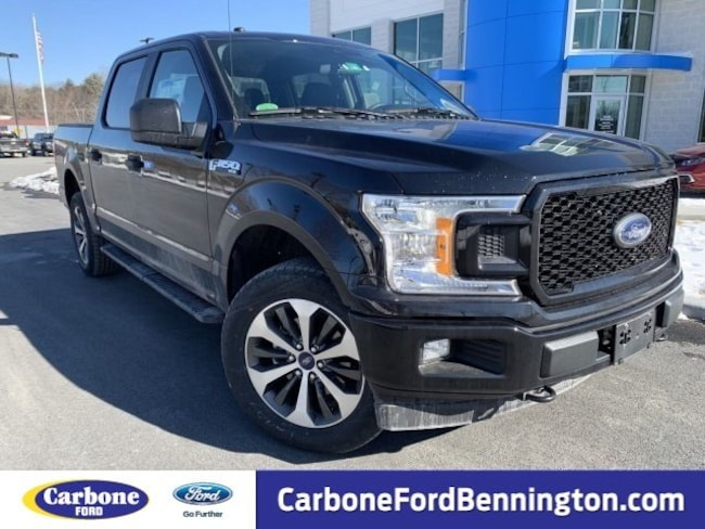 New 2019 Ford F-150 STX Truck SuperCrew Cab for sale in Bennington VT