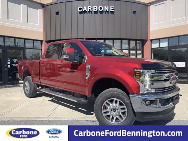 New 2019 Ford F-250 LARIAT Truck Crew Cab for sale in Bennington VT