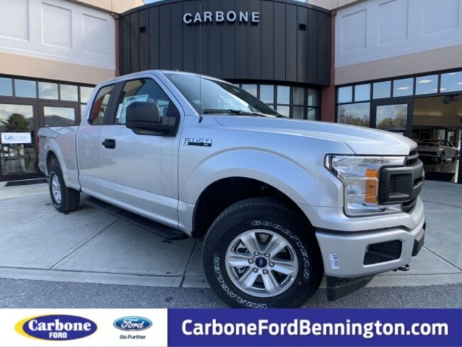 New 2018 Ford F-150 XL Truck SuperCab Styleside for sale in Bennington VT