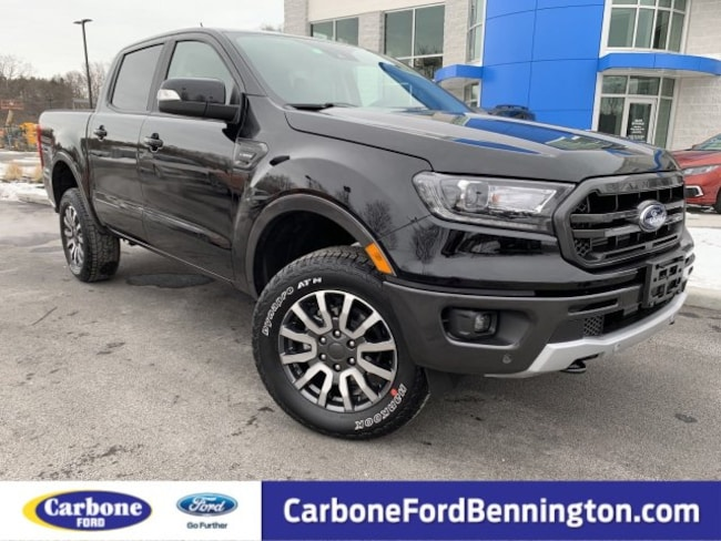 New 2019 Ford Ranger LARIAT Truck SuperCrew for sale in Bennington VT