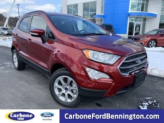 New 2018 Ford EcoSport SE SUV For sale in Bennington, VT