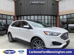 New 2019 Ford Edge Titanium SUV in Bennington VT
