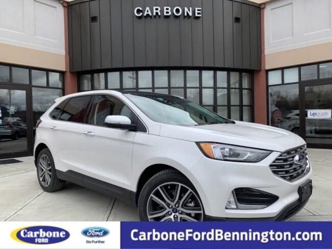 New 2019 Ford Edge Titanium SUV for sale in Bennington VT