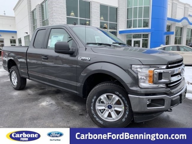 New 2019 Ford F-150 XLT Truck SuperCab Styleside for sale in Bennington VT
