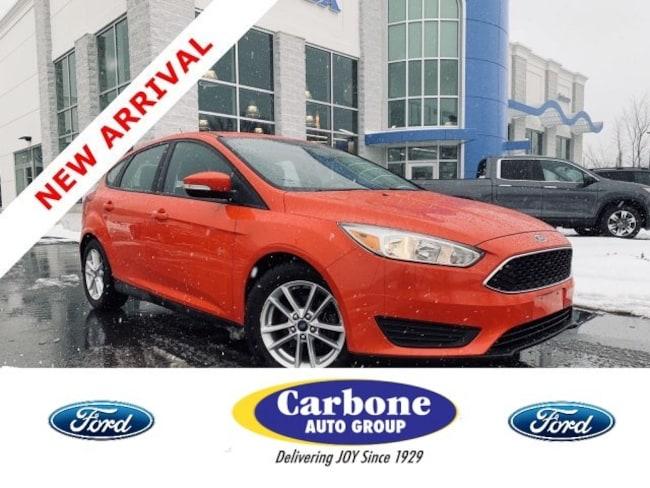 Used 2015 Ford Focus SE Hatchback fo sale in Bennington VT
