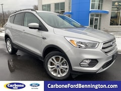 New 2018 Ford Escape SE SUV in Bennington VT