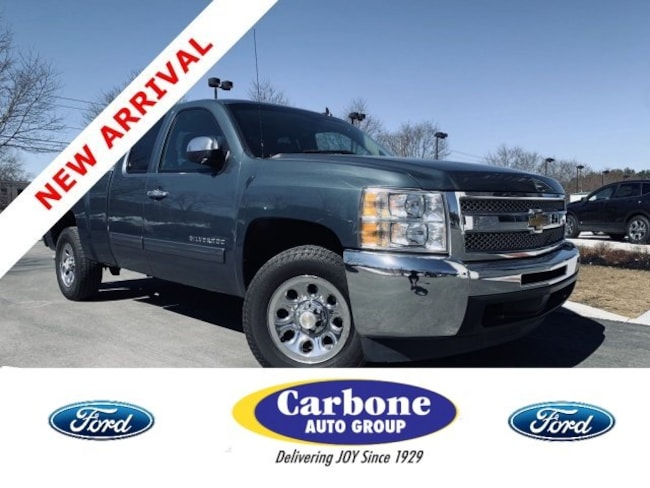 Used 2013 Chevrolet Silverado 1500 Ls Extended Cab Pickup Blue